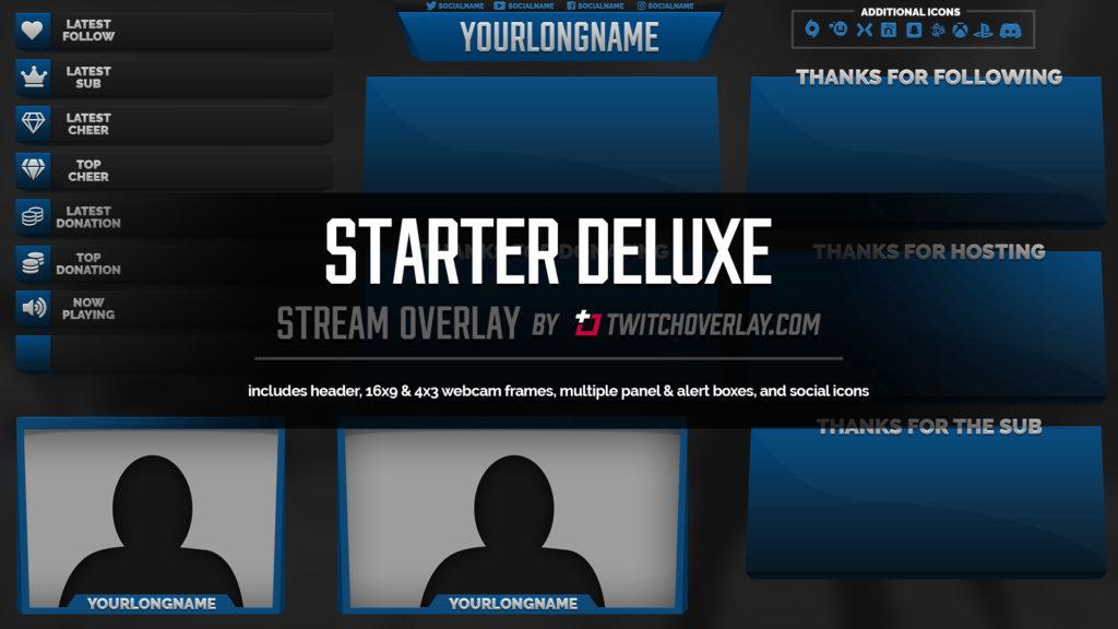 Starter Deluxe – Blue Overlay