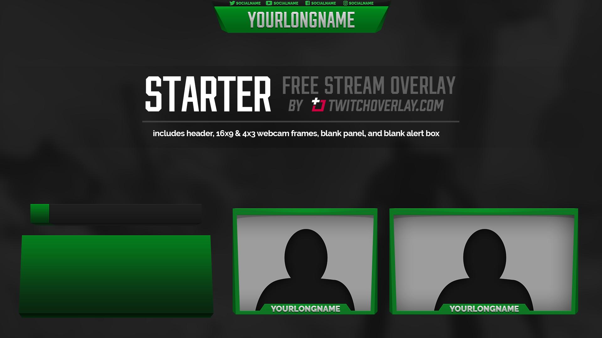 Starter - Free Green Overlay