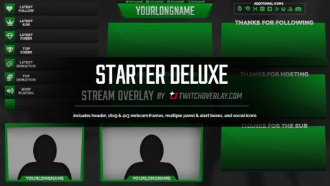 Starter Deluxe – Green Overlay