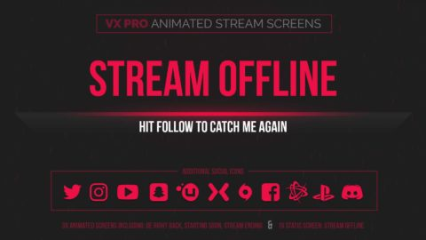 VX Pro – Animated Stream Screens