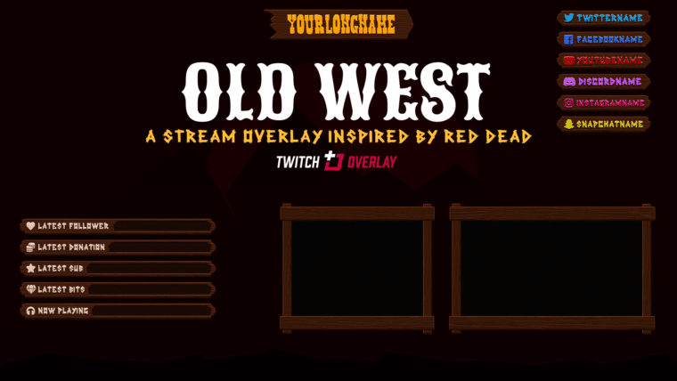 Red Dead Redemption 2 Overlay