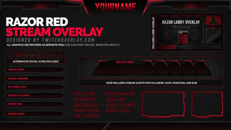 Red Overlay