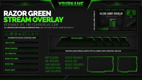 Razor Green – Green Overlay