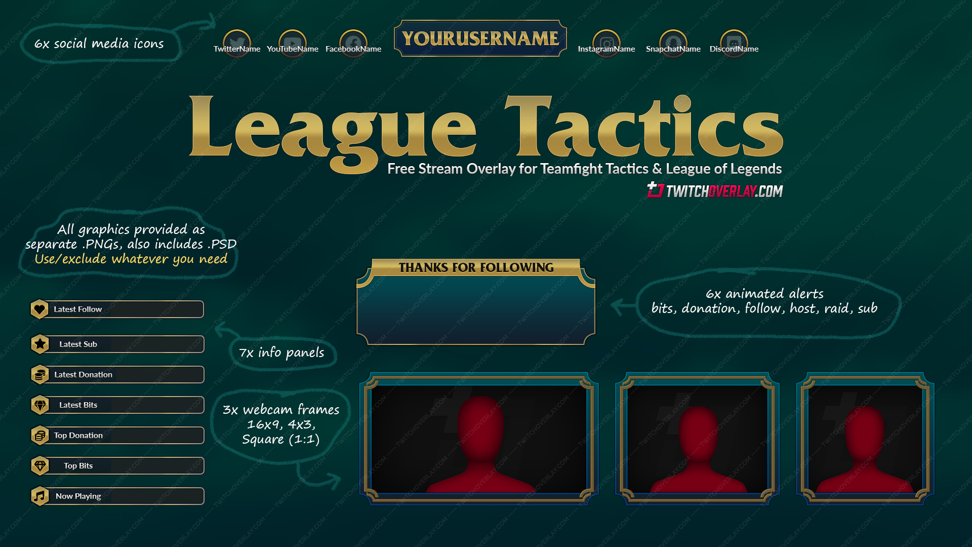 league of legends twitch overlay - Twitch Overlay