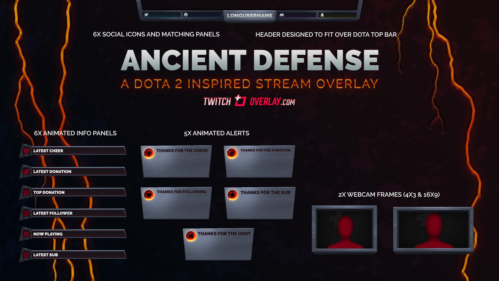 Dota 2 Twitch Overlay - Twitch Overlay