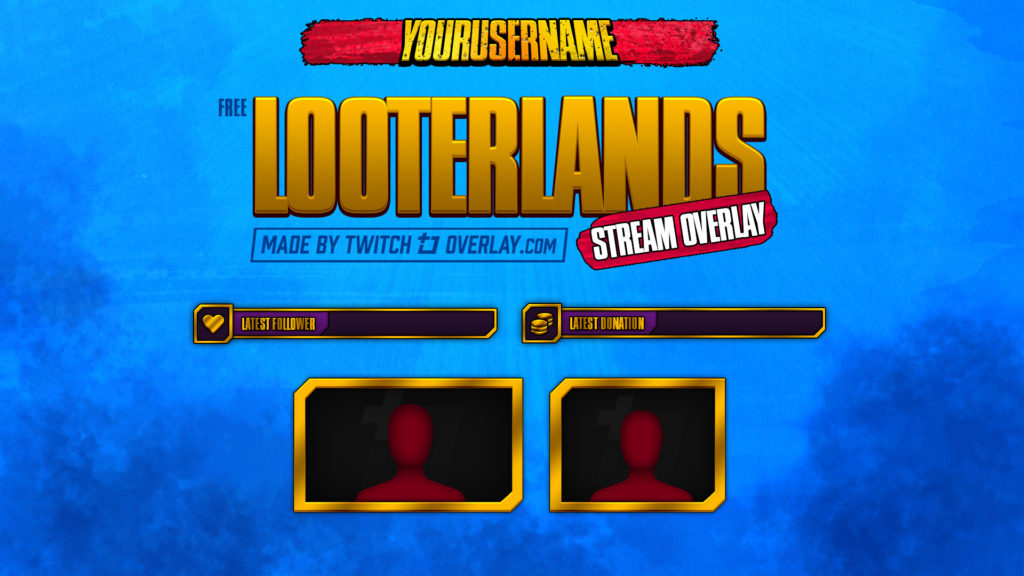 Looterlands – Free Borderlands 3 Twitch Overlay