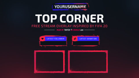 Free FIFA 20 Twitch Overlay