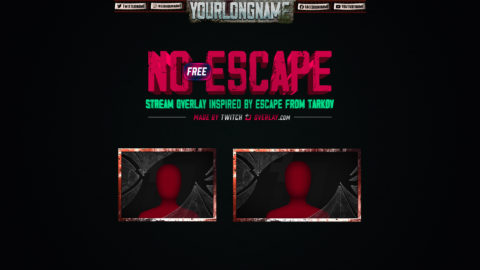 No Escape – Free Escape from Tarkov Twitch Overlay