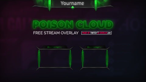 free green stream overlay