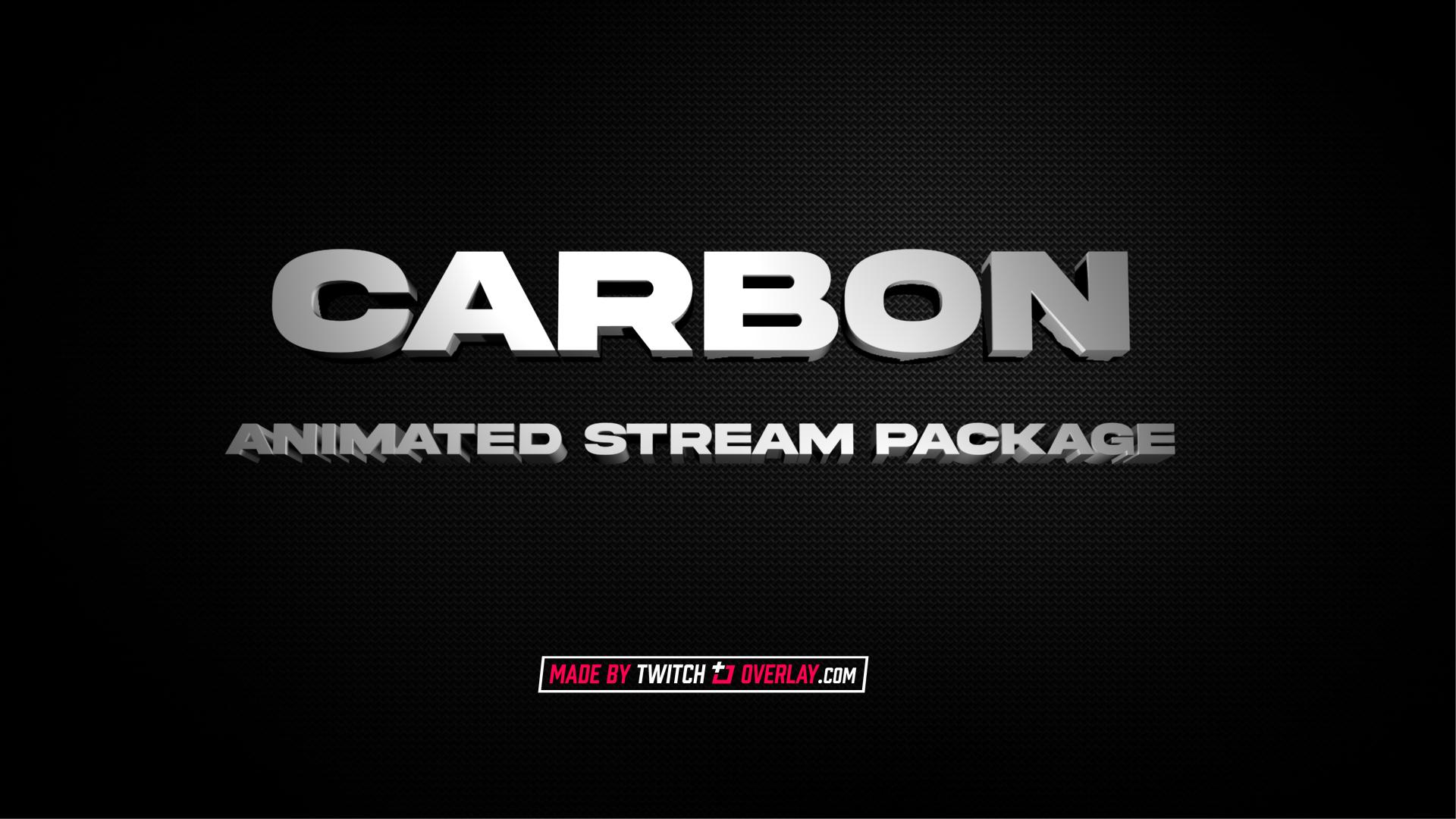 dark stream package - Twitch Overlay