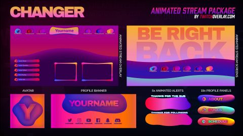 Changer – Modern Stream Package