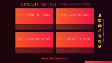 free red streaming soon & brb screens