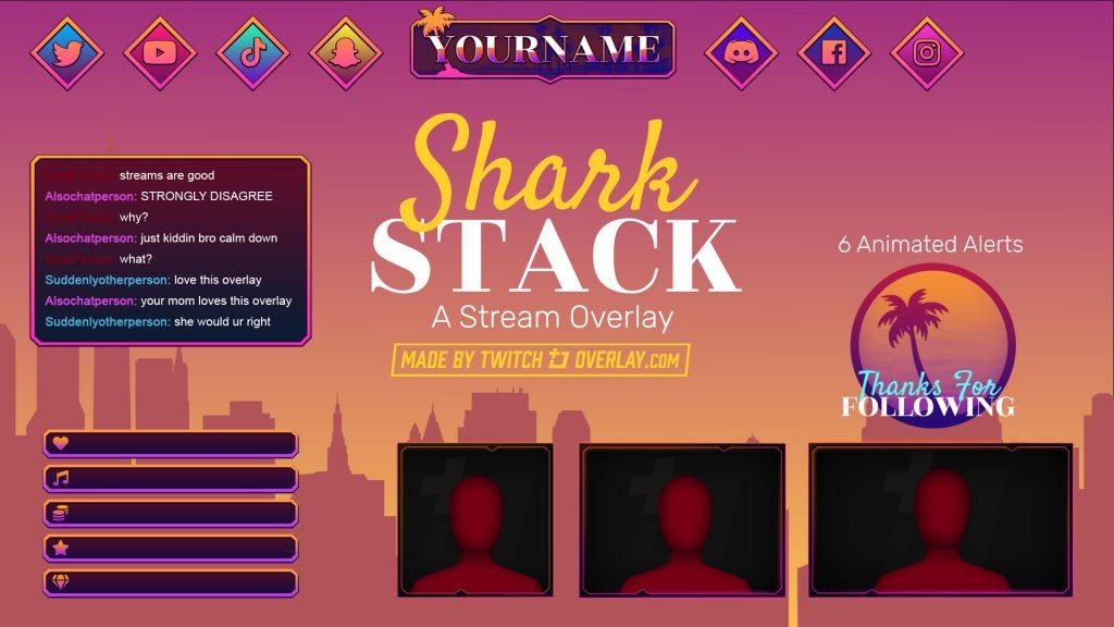 Shark Stack – GTA 5 Twitch Overlay