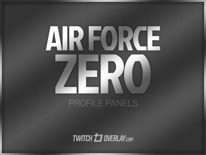 Air Force Zero – Steel Profile Graphics