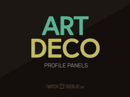 Art Deco Profile Graphics (Bioshock style)