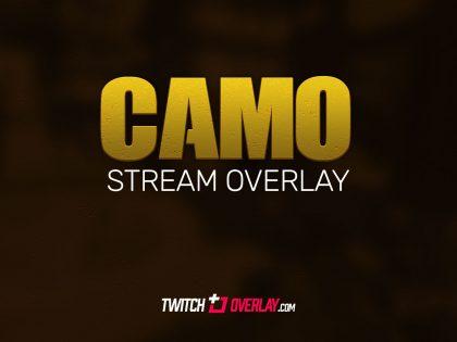 Camo – Free Call of Duty Twitch Overlay