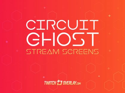 Circuit Ghost – Free Red Streaming Soon & BRB Screens