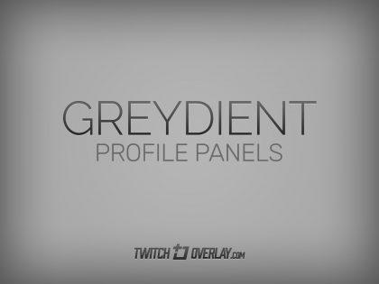 Greydient – Grey metallic headings for Twitch