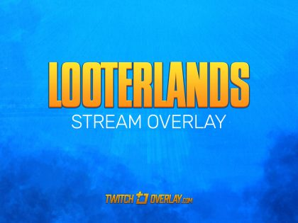 Looterlands – Free Borderlands 3 Twitch Overlay