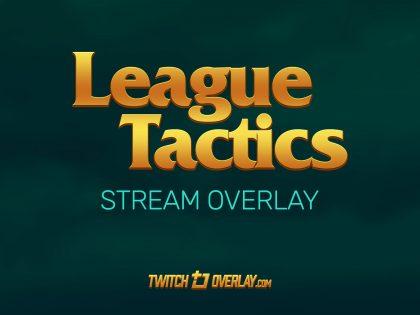 League Tactics – Free Teamfight Tactics Twitch Overlay