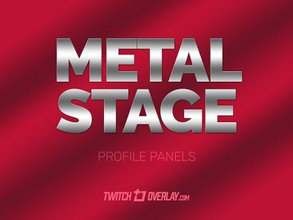 Metal Stage – Curtain Profile Graphics