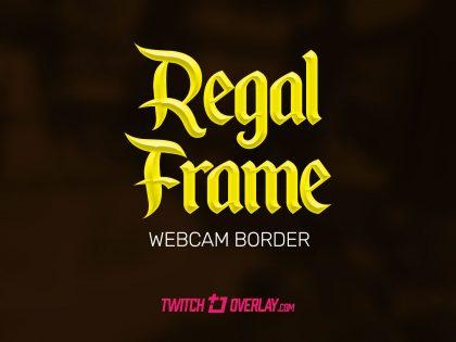 Regal Frame – Gold Cam Overlay