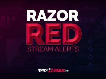 Razor Red Stream Alerts