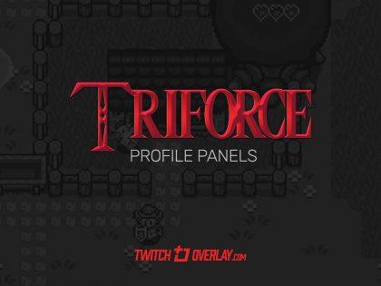 Triforce Profile Headings (Zelda style)