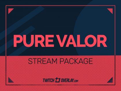 Pure Valor – Valorant Stream Package